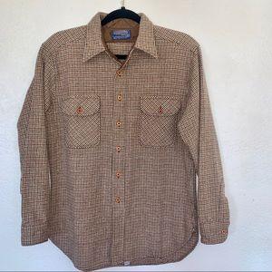Men's vintage Pendleton wool flannel sz L